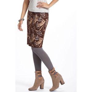 Sparrow Jacquard Sweater Pencil Skirt